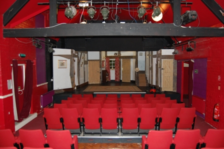 Theatre Stage from the Auditorium